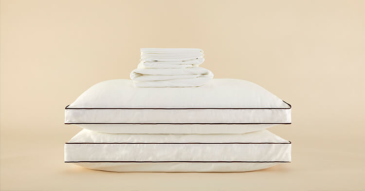 Stacked bedding products